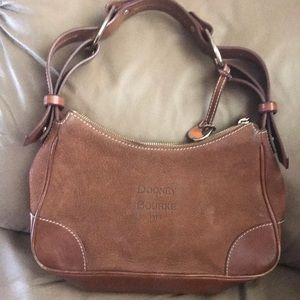 Dooney and Bourne suede leather purse